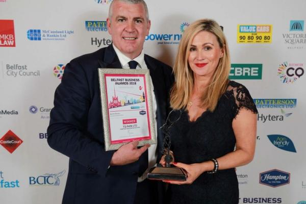 Belfast's Best New Business Award goes to……