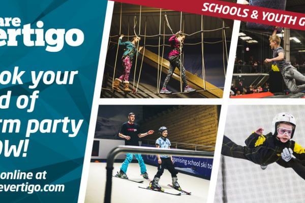 Book your End of Term Party with We are Vertigo