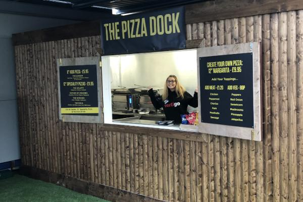 The Pizza Dock, Titanic Quarter