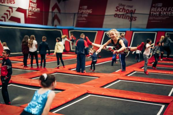 FREE Trampoline Pass with every Skydive booked Monday to Thursday.