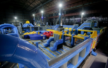 Titanic Inflatable Park Autism Friendly Bounce (Ages 4-104)