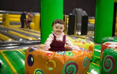 Titanic Inflatable Park Toddler Area (1-4yrs)