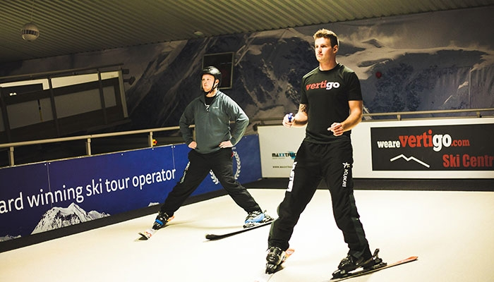 Indoor Ski Center and Travel