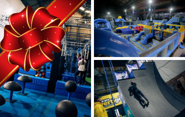 Ninja Master & Inflatable Park Combo Voucher (Ages 6+)