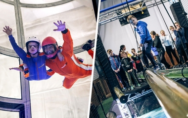 Skydive + Ninja Experience (COMING 2019)