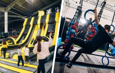 Inflatable Park and Ninja Combo Party (Ages 6+)