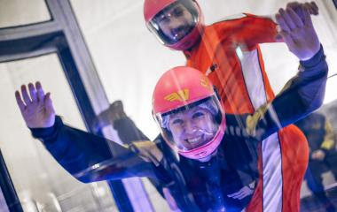 24,000 ft Indoor Skydiving