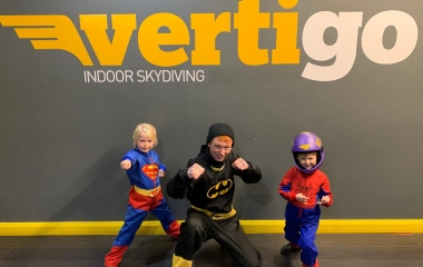 Skydive Superhero Experience (Ages 4+)
