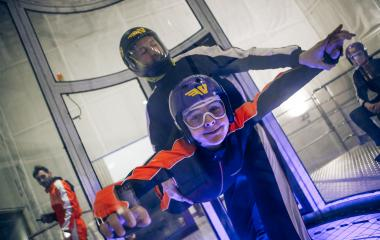 72,000 ft Indoor Skydiving