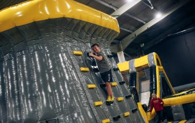 Inflatable Park Open Bounce (Ages 4-104)