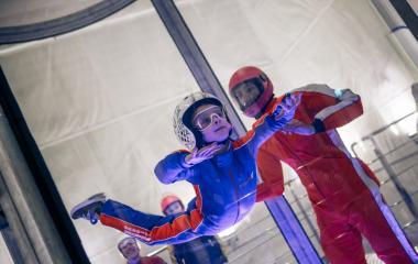 36,000 ft Indoor Skydiving