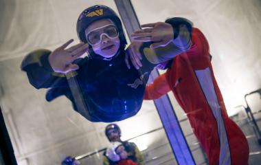 48,000 ft Indoor Skydiving