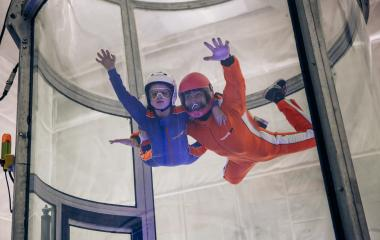 60,000 ft Indoor Skydiving
