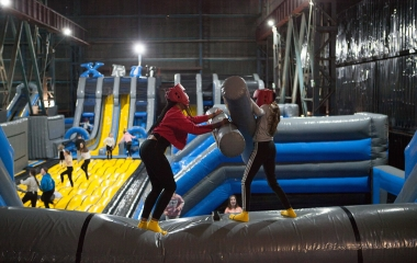 Titanic Inflatable Park Open Bounce (Ages 4-104)