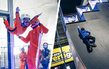 Skydive + Ninja Combo (Ages 6+)