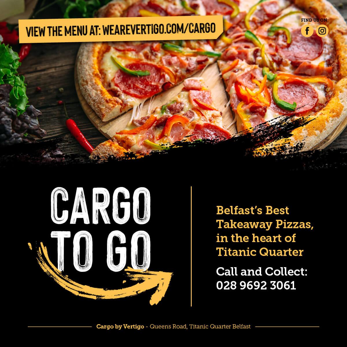 Cargo to go takeaway